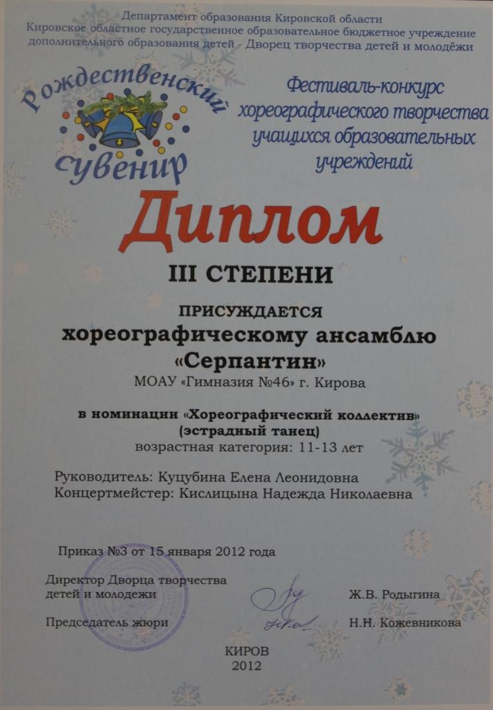 Всемирные конкурсы танца